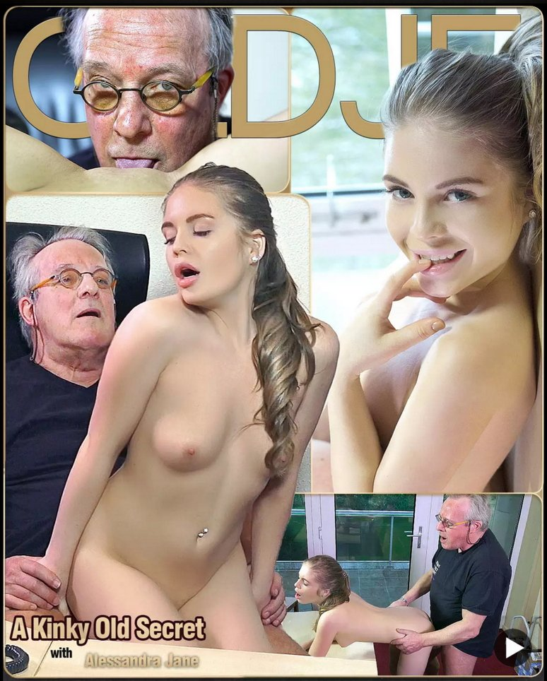 ClassMedia.com - Alessandra Jane - A Kinky Old Secret [FullHD 1080p / Oldman / Young girl / 2016]