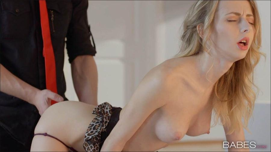 Babes.com - Goldie - Save Room for Dessert [HD 720p / Blonde / Natural Tits / 2016]