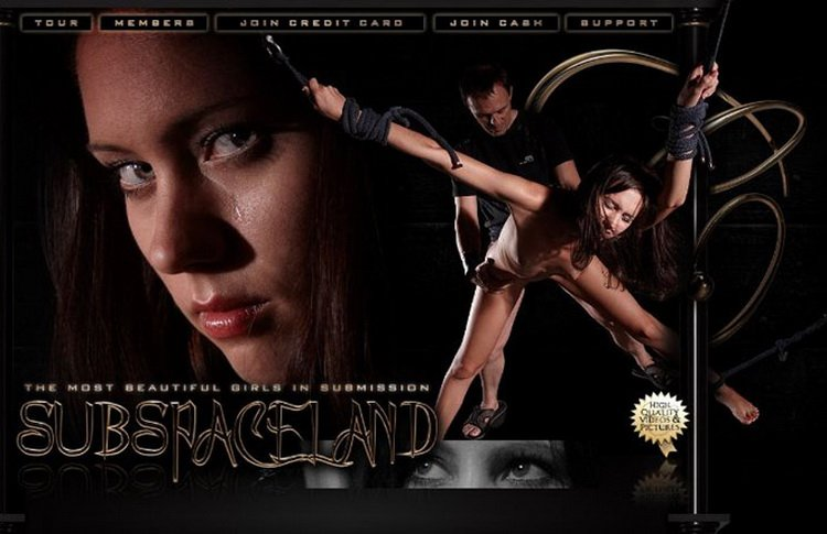 SubSpaceLand.com - Allodia, Caroline Fox, Kate, Niki Thorne - The Castle [HD / BDSM / Bondage / 2011]