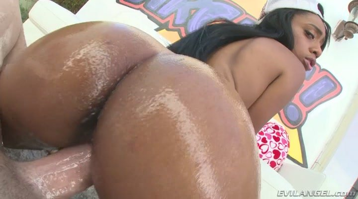 EvilAngel.com - Brittney White - White Perv Drills Busty Black Teen [SD / Gonzo / Teen / 2016]