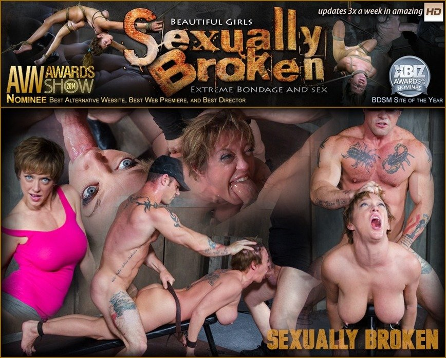 SexuallyBroken.com - Dee Williams - TheLegendary Dee Williams Epically Dicked Down With Multiple Orgasms! [SD 540p / BDSM / Domination / 2016]