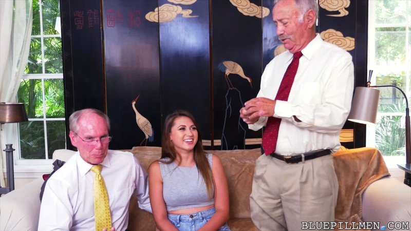 BluePillMen.com - Ivy Rose - Ivy impresses with her big tits and ass [SD / Young / Old / 2016]