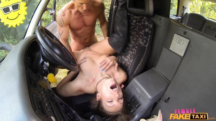 FemaleFakeTaxi.com - Ava Austen - Lucky Guy Fucks Hot Chick on Bonnet [SD / Milf / All Sex / 2017]
