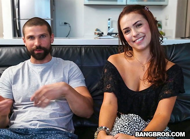 BangBros.com - Fancy - Francy sucks and gets fucked [SD / Amateur / Young / 2017]