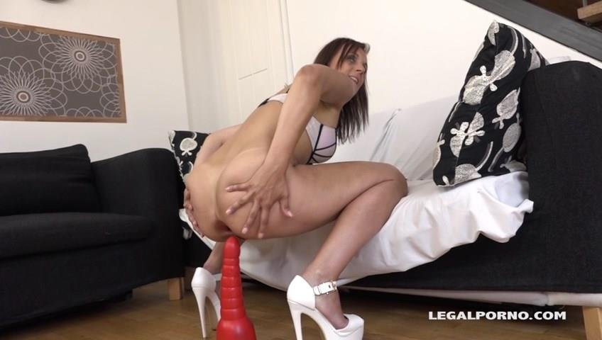 LegalPorno.com - Sofy - Horny housewife Sofy just bored in need of a big black dick IV032 [SD / Anal / Gonzo / 2017]