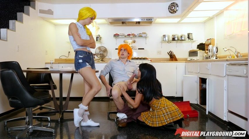 Digitalplayground.com - August Ames, Natalia Starr - Betty And Veronica: An Archie Comics XXX Parody [SD / Threesome / 2017]