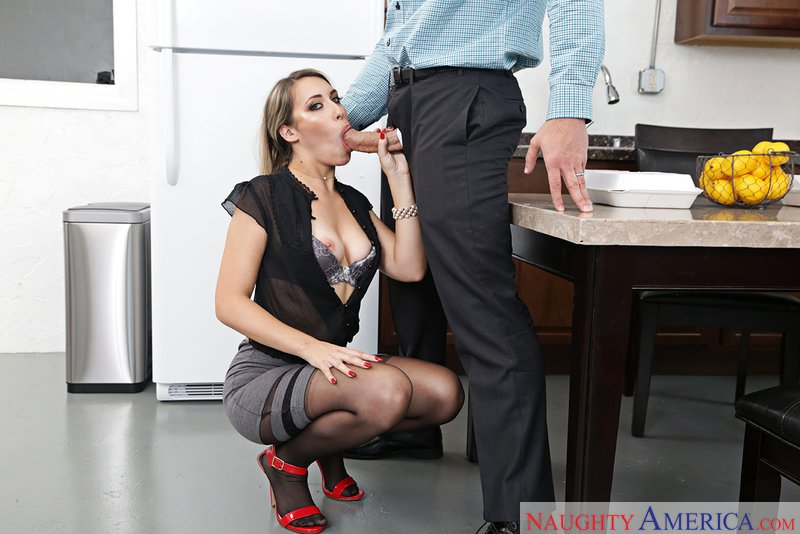 NaughtyAmerica.com - Kimber Lee - 22227 [SD / Blonde / Medium Tits / 2017]