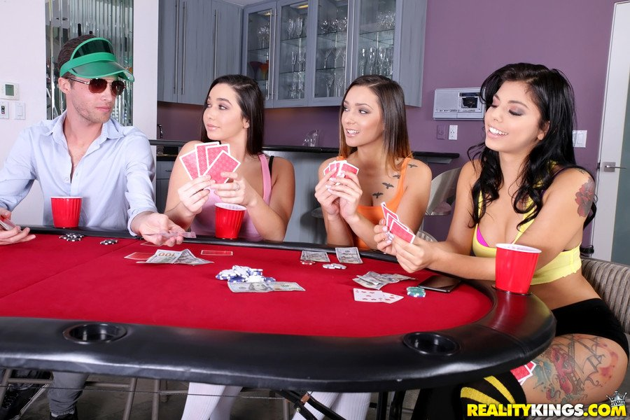 RealityKings.com - Gina Valentina, Karlee Grey, Jaye Summers - Taking All Bets [SD / Threesome / Squirting / 2017]