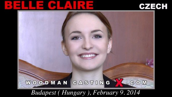 WoodmanCastingX.com - Belle Claire - Casting X 126 Updated [SD / DP / Anal / 2017]