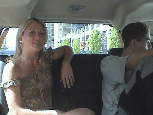 Blonde wife face fucked