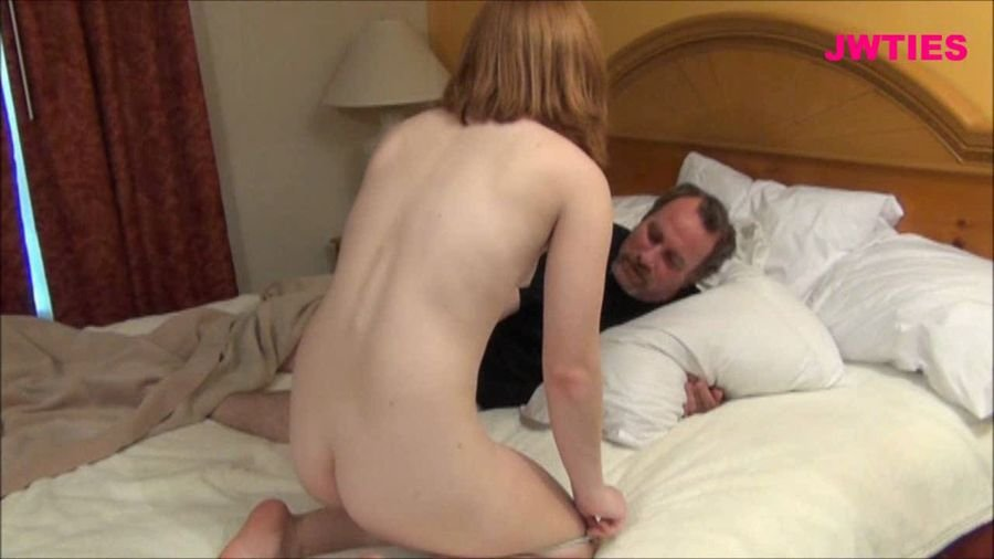 Jwties.com - Sadie Kennedy - Sadie's Daddy Desires - Part 2 [HD 720p / Incest / Taboo / 2015]