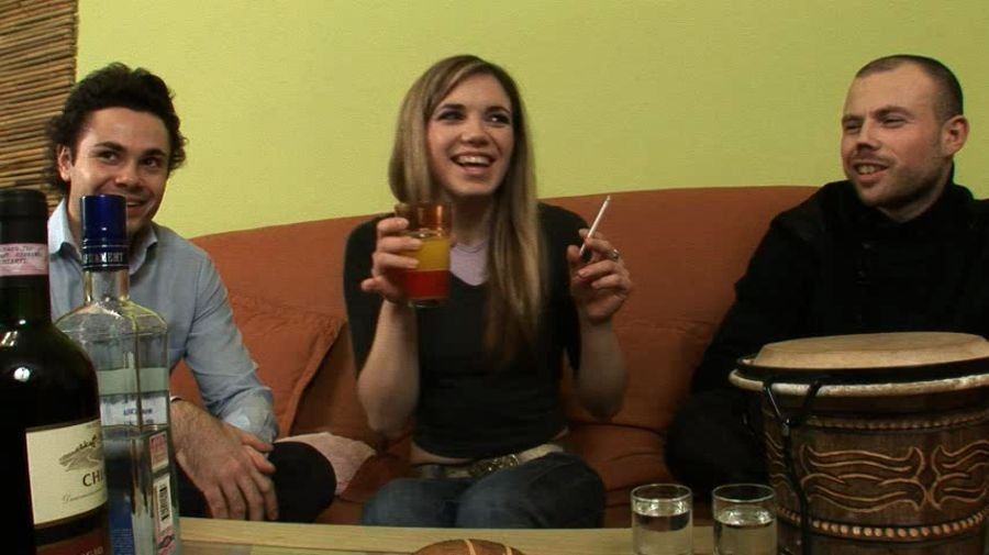 RealDrunkenGirls.com - Anna - Drunken Anna - Part 1 [SD / Russian / Amateur / 2015]