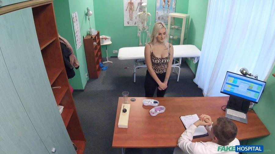 FakeHub.com - Daisy Lee - Blonde Patient Fucked by Her Doctor [SD / Blonde / Hardcore / 2017]