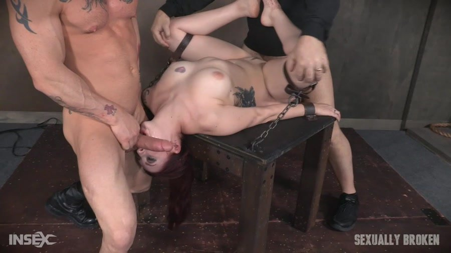 SexuallyBroken.com - Amber Ivy - Part 1 / Amber Ivy April 12, 2017 [HD 720p / BDSM / Rough Sex / 2017]
