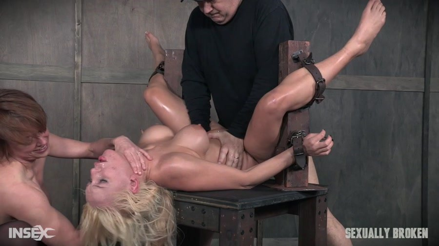 SexuallyBroken.com - Kenzie Taylor - Part 2 / Kenzie Taylor May 12, 2017 [HD 720p / BDSM / Rough Sex / 2017]