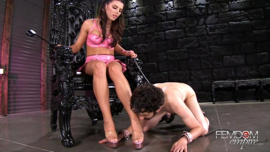 FemdomEmpire.com - Adriana Chechik - Adriana Chechik Ruled by Feet [FullHD 1080p / Femdom / Humiliation / 2017]