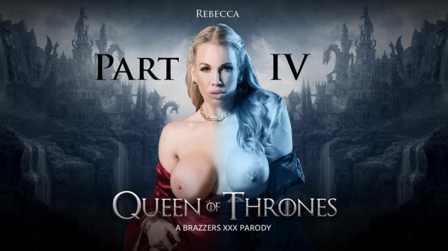 ZZSeries.com - Ella Hughes and Rebecca Moore - Queen Of Thrones Part 4 [SD / Anal / Foursome / 2017]