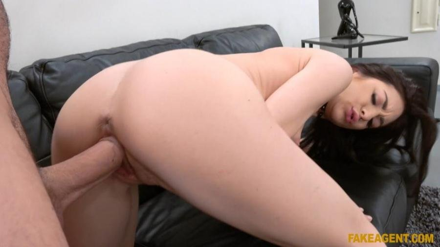 FakeAgent.com - Lullu Gun - German Babe Wants to Try Porn [FullHD 1080p / Casting / Brunette / 2017]