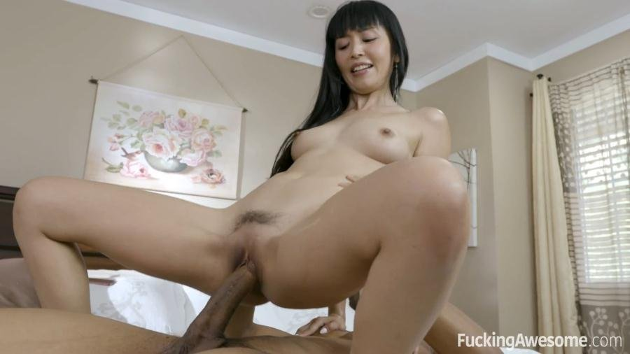Fuckingawesome.com - Marica Hase - Big Black Dick, Little Asian Chick [FullHD 1080p / All Sex / Blowjob / 2017]