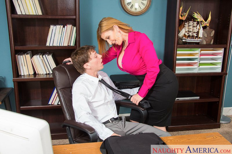 NaughtyOffice.com - Sara Jay - 23167 [SD / Cum in Mouth / Outie Puss / 2017]