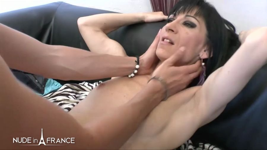 NudeInFrance.com - Lilia - India  Linda Yo, Horny Brunette Gets Analized And Facialized [HD 720p / Amateur / France / 2017]