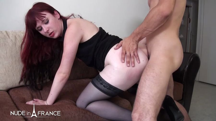 Amateur Redhead Anal Swallow