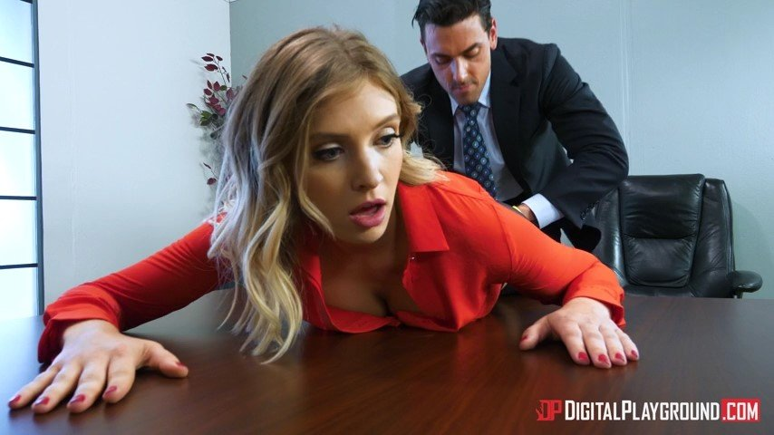 DigitalPlayground.com - Giselle Palmer - The Panty Hoes [SD / Blonde / Panty / 2017]