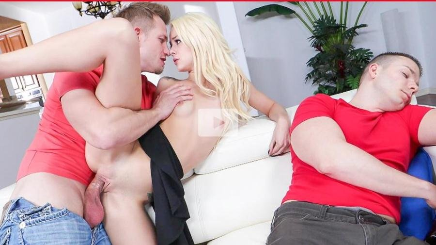 EvilAngel.com - Elsa Jean - Blackmailed Cheat And Clueless Cuckold [SD / Gonzo / Blonde / 2017]