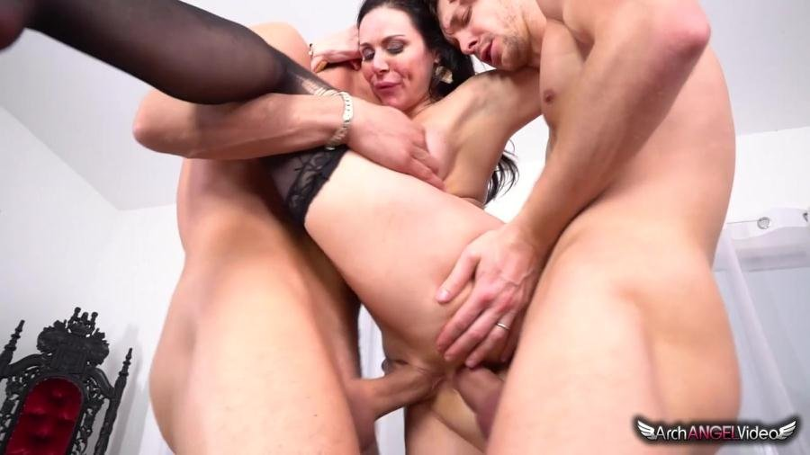 ArchAngelVideo.com - Kendra Lust - Kendra's First Ever DP [SD / Gonzo / Anal / 2017]