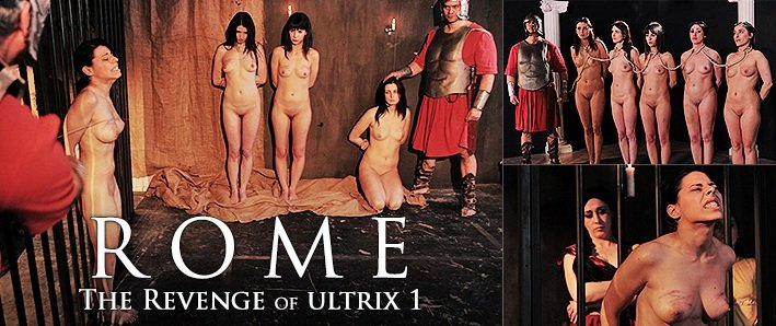 ElitePain.com - Amateur - ROME - The Revenge of Ultrix, part 1 [HD / 2015]