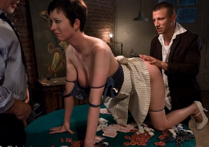 SexAndSubmission.com - Cherry Torn, Mark Davis, Mr. Pete, Alan Stafford - Featured Shoots: The Poker Game [HD / 2009]