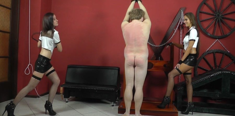 Cruel-Mistresses.com - Mistress Anette - Naked boy's mocking [FullHD 1080p / Femdom / Domination / 2017]