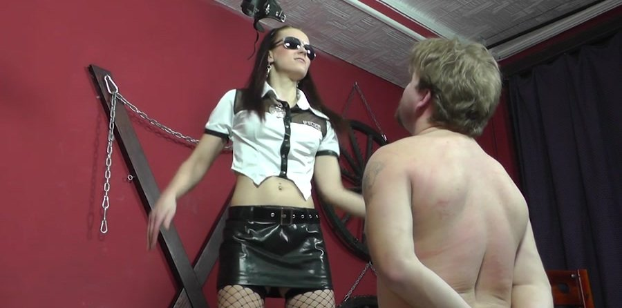 Cruel-Mistresses.com - Mistress Anette - Too many slaps [HD 720p / Femdom / Domination / 2017]