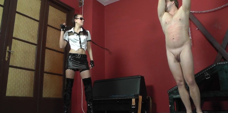 Cruel-Mistresses.com - Mistress Anette - Witty slave gets with the whip [FullHD 1080p / Femdom / Domination / 2017]