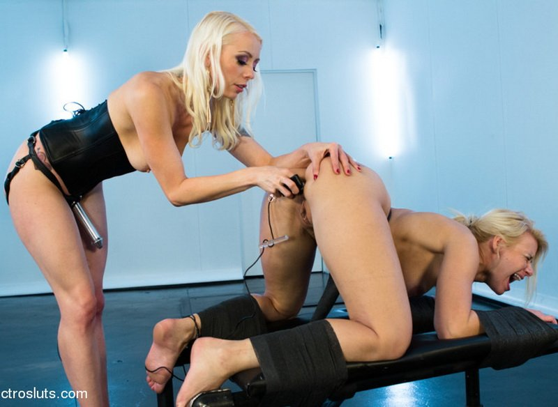 ElectroSluts.com - Lorelei Lee, Anikka Albrite - Shockingly Painful Electro Fucking! [HD / 2013]