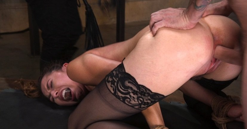 TheTrainingOfO.com - Melissa Moore - Training a Pain Slut: Busty Melissa Moore's First Submission [SD / Rough Sex, BDSM / 2017]