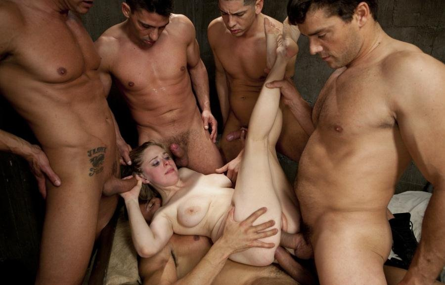 BoundGangBangs.com - Penny Pax - Poor Little American Girl Trapped in Mexico [HD 720p / BDSM, Gang Bang / 2017]