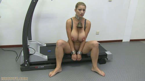 HuCows.com - Katarina - Exercising Katarina [FullHD 1080p / BDSM, Pumping, Big Boobs / 2017]