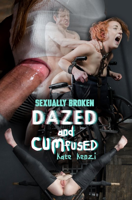 SexuallyBroken - Kate Kenzi, Jesse Dean - Dazed And Cumfused [HD 720p / BDSM, Bondage / 2017]