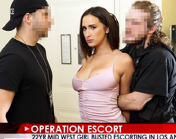 Operationescort.com - Ashley Adams - Mid West Girl Busted Escorting in Los Angeles [SD / Blowjob / 2018]