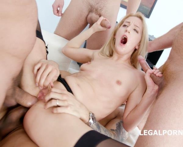 LegalPorno.com - Arijna - Blackened With Arijna 4 BWC Plus 3 BBC Equals Double Session Balls Deep Anal, DAP, Gapes, Swallow, Facial GIO621 [SD / Facial / 2018]