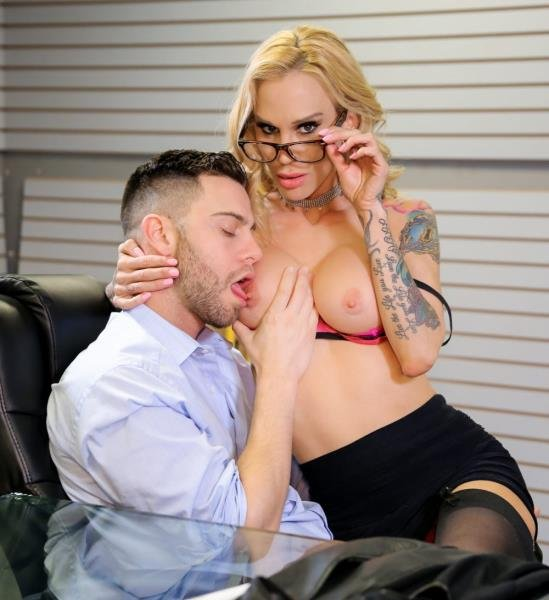 DevilsFilm.com - Sarah Jessie - Big Tits Office Chicks 5, Scene 3 [SD / Big Tits / 2018]