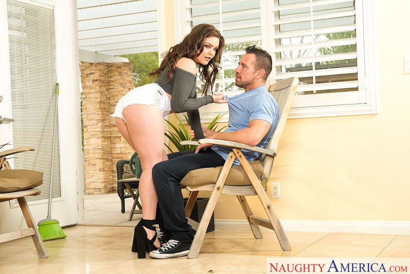 NeighborAffair.com / NaughtyAmerica.com - Kimber Woods - 24253 [SD / Brunette /  2018]
