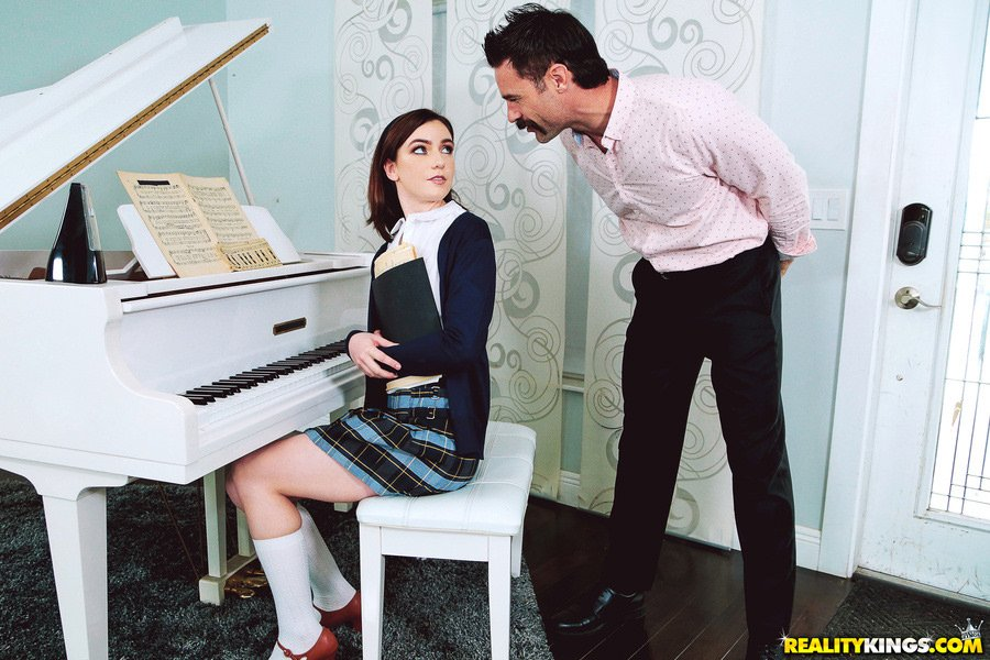 Pure18.com / RealityKings.com - Maddie Winters - My Piano Teacher Is A Pervert [SD / Blowjob /  2018]
