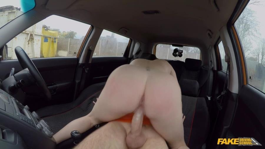 FakeDrivingSchool.com - Georgie Lyall - Instructor Spunks In GeorgieS Mouth [SD / Big Tits /  2018]