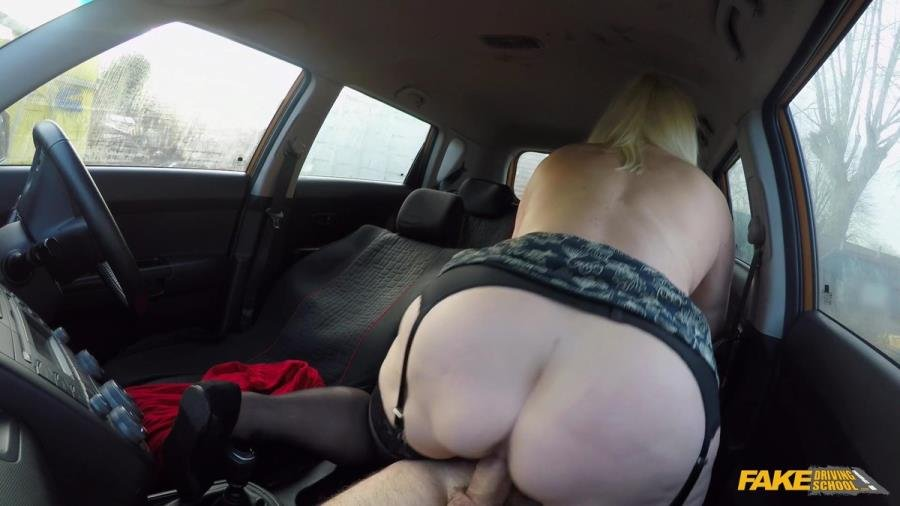 FakeDrivingSchool.com - Lacey Starr - Busty Mature MILF Fucks Instructor [SD / Milf /  2018]