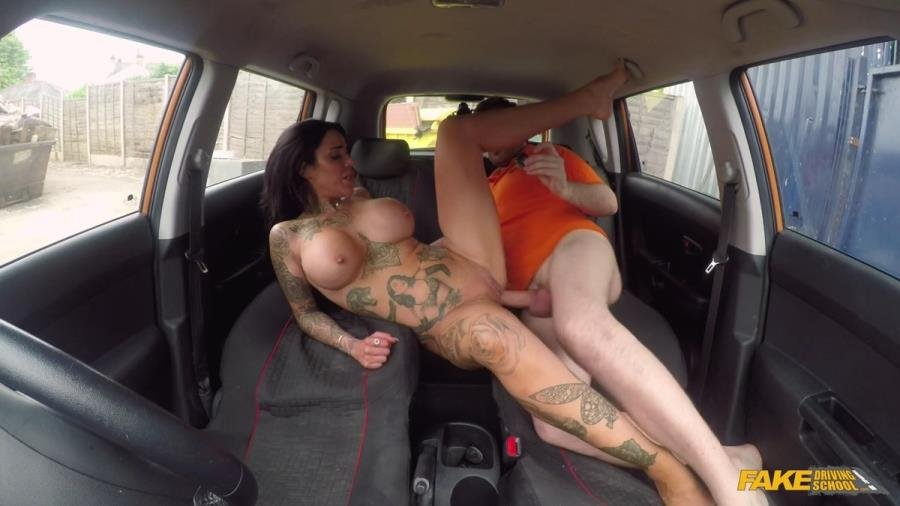 FakeDrivingSchool.com - Alice Judge - Spunk Covered Pussy For Busty Babe [SD / Big Tits /  2018]