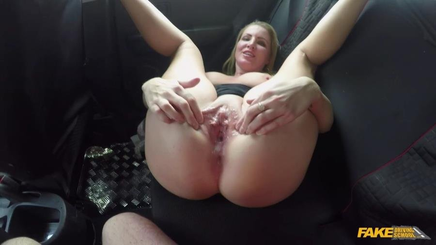 FakeDrivingSchool.com - Georgie Lyall - Off Duty Sex [SD / Blowjob /  2018]
