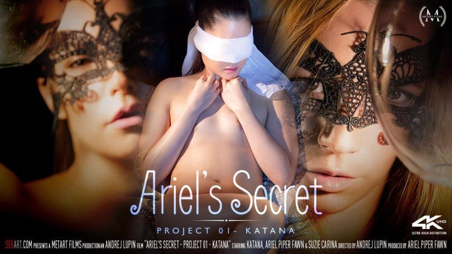 SexArt.com - Ariel Piper Fawn, Katana, Suzie Carina - Ariel's Secret: Project 01 - Katana [SD / Asian /  2018]