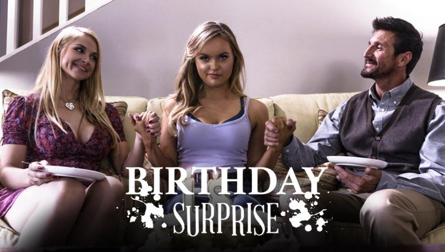 PureTaboo.com-Год производства: 2018 г. - Sarah Vandella, River Fox - Birthday Surprise [SD / Teen, Young /  2018]